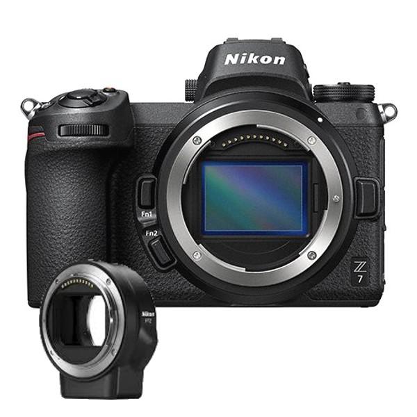 Nikon Z7 corpo +FTZ Adattatore-2/4 Anni Garanzia  Italia -Lingua Italiana-SPEDITA IN 24 0re