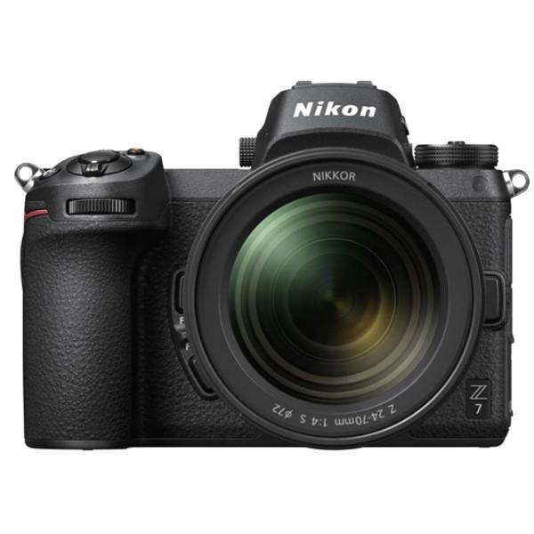 Nikon Z7 Body +Z 24-70 F4 S -2/4 Anni Garanzia  Italia -Lingua Italiana-Spedita in 24 Ore